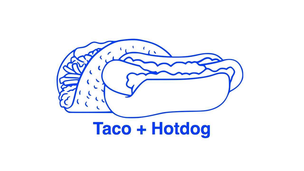Photos: Taco + Hotdog =