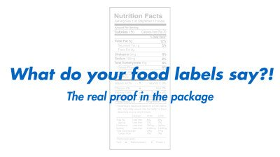 What does your food labels say?!